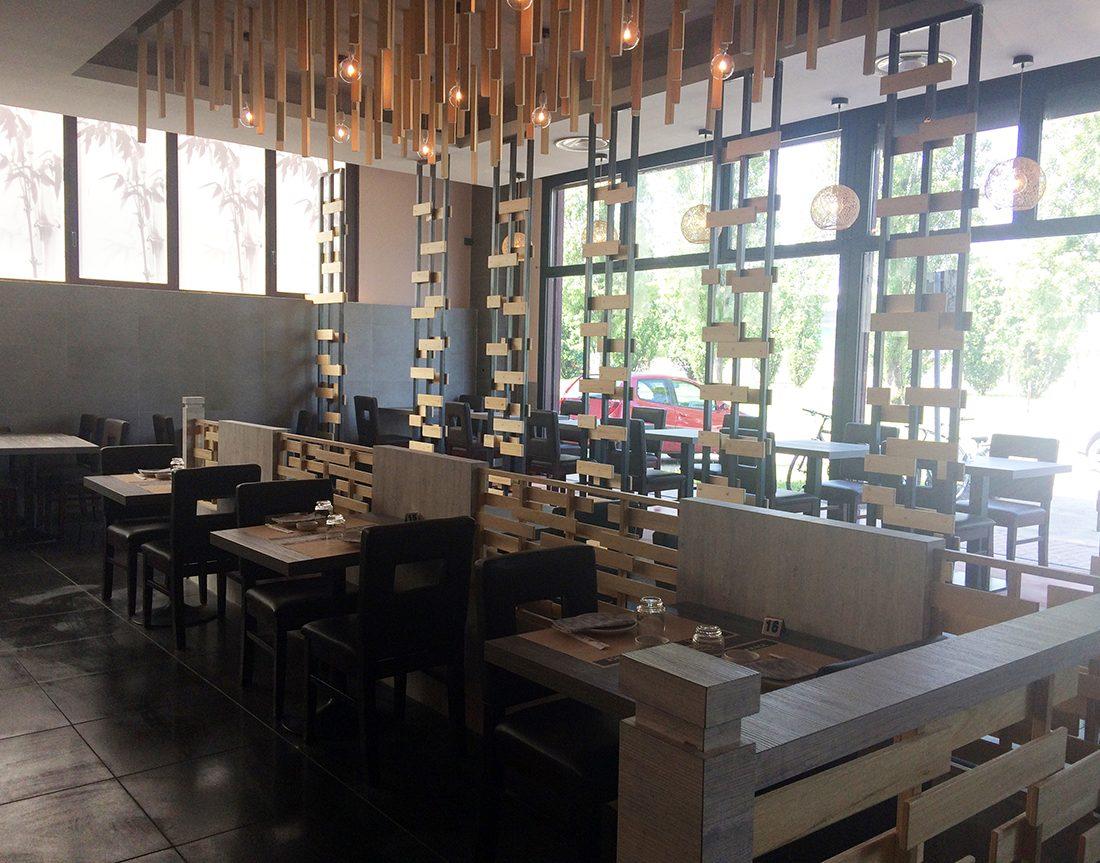 Architettura d 39 interni ristorante giapponese fusion for Interni architettura
